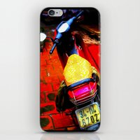 moto iPhone & iPod Skins featuring Moto by Loady