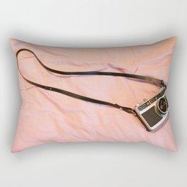 Vintage film camera Fujica Compact 2 Rectangular Pillow