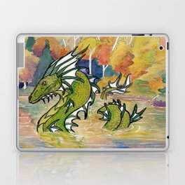 Lake Dragon Laptop & iPad Skin