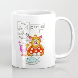 Always Eat Out Coffee Mug