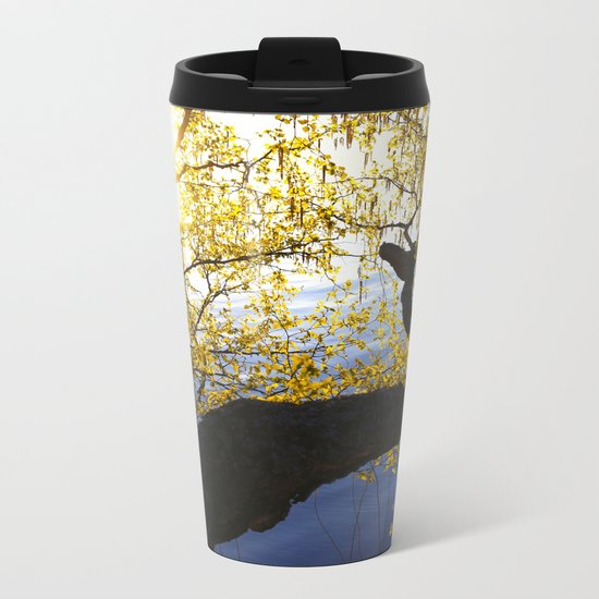 Spring Is In The Air Metal Travel Mug