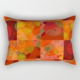 """""""Circles & Flowers Cartoon"""" Rectangular Pillow"""
