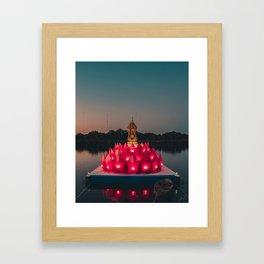 The Grand Lotus Framed Art Print