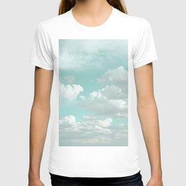 Clouds in a Mint Sky T-shirt