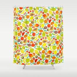 Summer Fruits by Veronique de Jong Shower Curtain