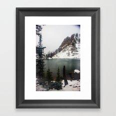 Secret Lake Framed Art Print