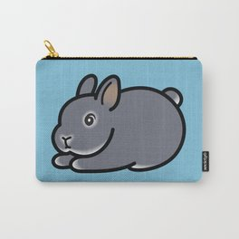 Netherland Dwarf Bunny Loaf Carry-All Pouch