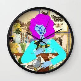 Insect Room Wall Clock