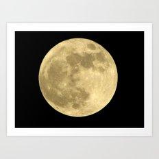 Super Moon Art Print