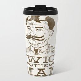 Twice the Man Metal Travel Mug
