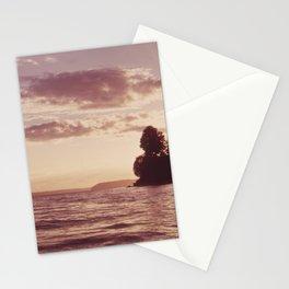SUNSET ON PUGET SOUND NEAR MARYSVILLE NARA 552319 Stationery Cards