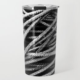 Rebar And Spring - Industrial Abstract Travel Mug