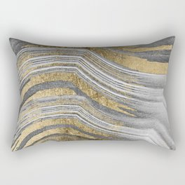 Abstract paint modern Rectangular Pillow