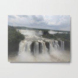 Iguaçu Falls Metal Print