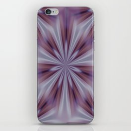 Aubergine Abstraction  iPhone Skin