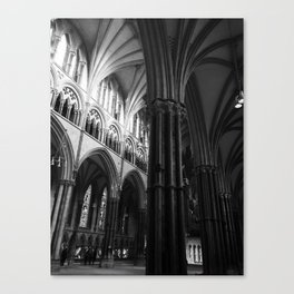 Cathedral Interior Canvas Print