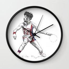 Dr. J Wall Clock
