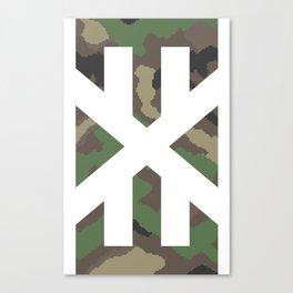 pixelcamo.exe Canvas Print