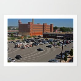 Richmond - Tilt Shift 1 Art Print