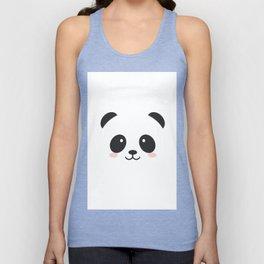 Cute Panda Unisex Tank Top