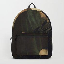 Jan de Bray - Portrait of the Artist's Parents Backpack