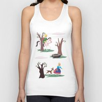 fairy tale Tank Tops featuring fairy tale by notbook