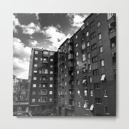 Ugly Buildings Metal Print
