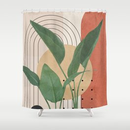 Nature Geometry V Shower Curtain