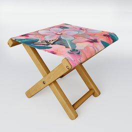 Hale Aloha Hibiscus Folding Stool