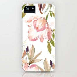 Darling Blooms 02 iPhone Case