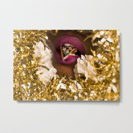 A Light Snack Metal Print