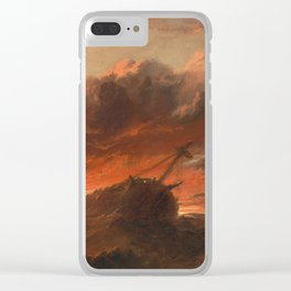 Francis Danby - Shipwreck Clear iPhone Case