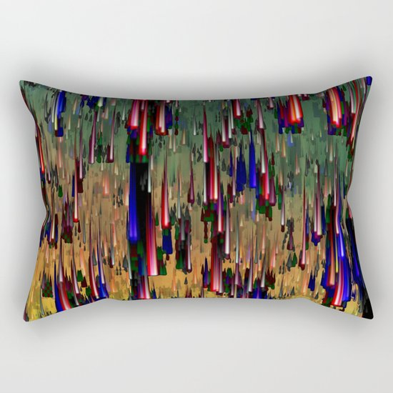 Raining Fiesta Rectangular Pillow