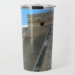 Chichen Itza Pyrmid Travel Mug