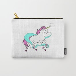 Magical Unicorn (White and Pink) Carry-All Pouch