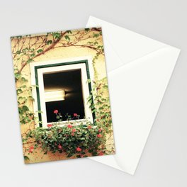 Window and ivy Stationery Cards