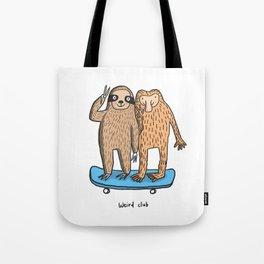 Weird Club Tote Bag