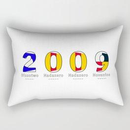 2009 - NAVY - My Year of Birth Rectangular Pillow