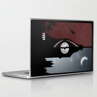 peter pan Laptop & iPad Skins featuring Peter Pan by Rowan Stocks-Moore