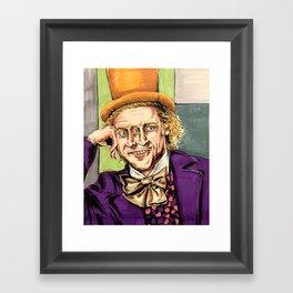 Factory owner Framed Art Print