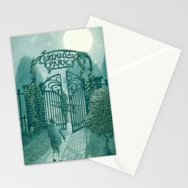 The Night Gardener - Grimloch Park Stationery Cards