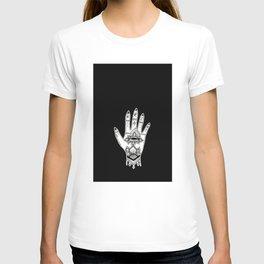 Hand of Fatima Black T-shirt