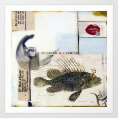 46 Fish Art Print
