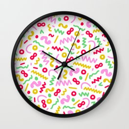 Party Popper 02 Wall Clock