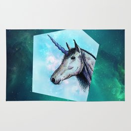 Unicorns only have fun Rug