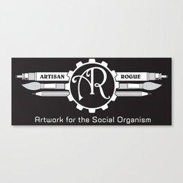 Artisan Rogue - Artwork for the Social Organism Canvas Print