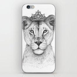 The Queen iPhone Skin