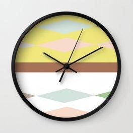 Pattern 2018 013 Wall Clock