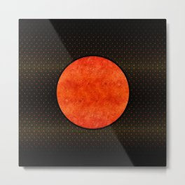 """Black Moon Sabana"" Metal Print"