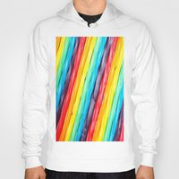 candy Hoodies featuring Rainbow Candy: Licorice by WhimsyRomance&Fun